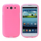 Hotsion s93-01-f Protective Silicone Back Cover Case for Samsung 9300 - Translucent Pink