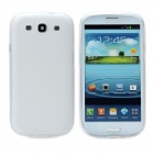 Hotsion s93-01-b Protective Silicone Back Cover Case for Samsung 9300 - Translucent White