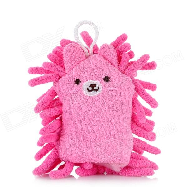 Cute Cartoon Pattern Screen Cleaning Chenille Brush for Computer - Pink
