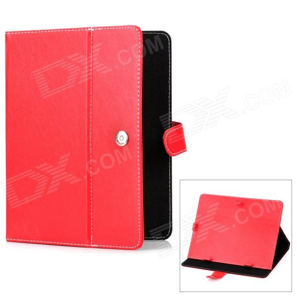 Protective PU Leather Case w/ Holder for 9.7