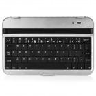 Wireless Bluetooth v3.0 61-key Keyboard for Samsung P3100 / Nokia 6200 / 3108 - Black + Silver