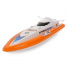 HQ951-10 3-CH Radio Control R/C Racing Boat - Orange + White