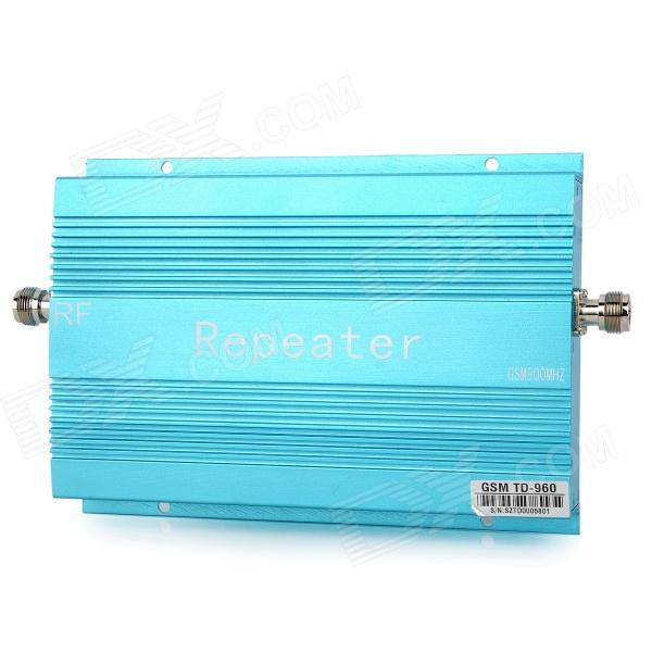 TD-960 GSM Cell Phone Signal Booster Amplificador Repetidor Kit - Blue
