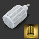 E14 20W 1980lm 3500K Warm White 330-LED Light Bulb - White (85~265V)