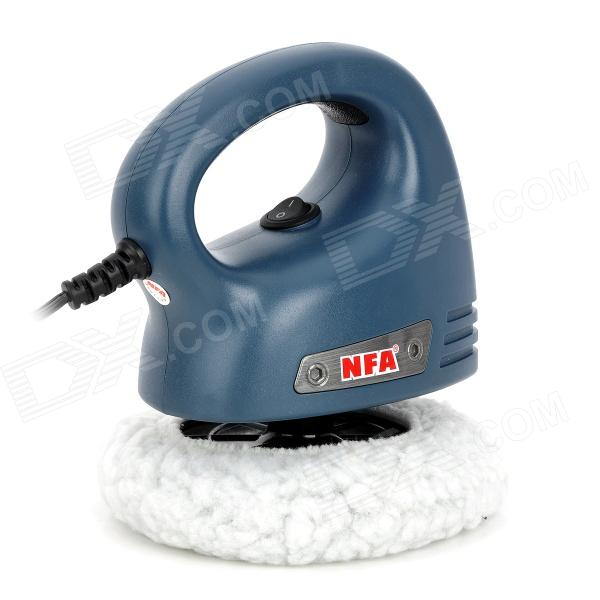 NFA 5103 Mini Car Cleaning Waxing Polisher Machine - Blue