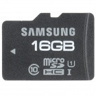Samsung Micro SDHC Memory Card - Black (16GB / Class 10)