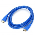 3D 1080p HDMI V1.4 Male to Male Connection Cable - Blue (180cm)