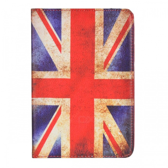 UK National Flag Pattern Protective PU Leather Case for Ipad MINI - Red suck uk