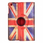 UK National Flag Pattern Protective PU Leather Case for Ipad MINI - Red