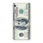100 US Dollars Pattern Protective PC Plastic Case for Iphone 4 / 4S