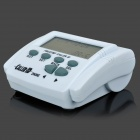 "2.7"" LCD Adjustable Screen Plastic FSK / DTMF Caller ID w/ Calendar - White"
