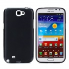 Protective Silicone Case w/ Screen Protector for Samsung N7100 - Black