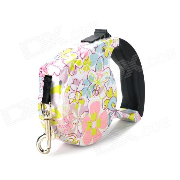 Outdoor Retractable Pet Dog Leash - Colored