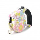 01 Outdoor Retractable Pet Dog Leash - Colored