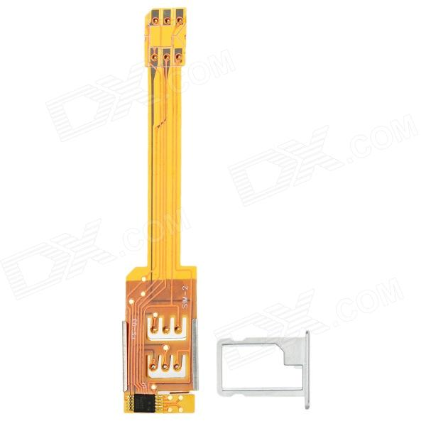 Dual SIM Card Adapter Converter for Iphone 5