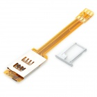 Dual SIM Card Converter Adapter para o iPhone 5