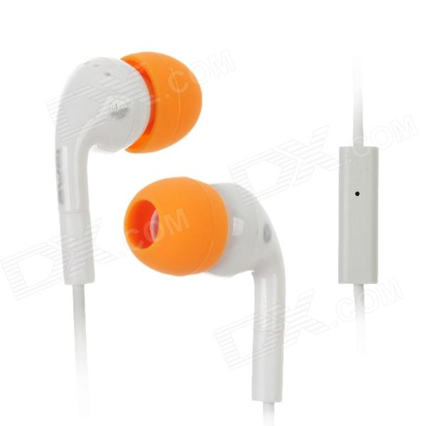 Q9i 3.5mm In-Ear Earphone with Microphone for Ipad / Iphone / HTC / Blackberry - White