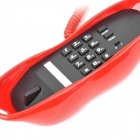 Creative Sexy Lips Style Landline Land Line Telephone Phone for Home - Red