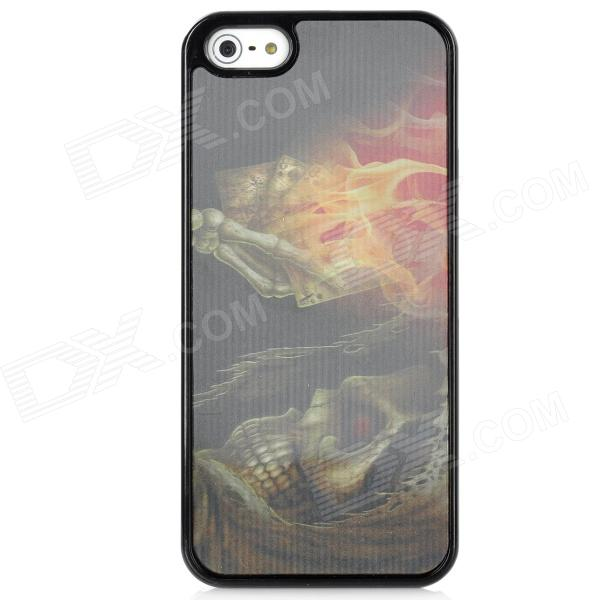 3D Devil Pattern Protective Plastic Case for Iphone 5 - Black рюкзак case logic 17 3 prevailer black prev217blk mid
