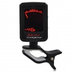 "KOKE KT-12 1.3"" LCD Clip-On Metronome Tuner for Guitar / Violin / Bass - Black (1 x CR2032)"