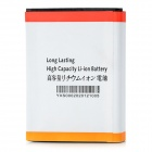Replacement 6500mAh Extended Battery w/ Cover for Samsung N7100 / N7108 / N7102 / N719 - Black