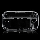 TYW1219 Protective Plastic Hard Case Cover Stand for Nintendo Wii U - Transparent
