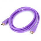 HDMI 1.4 Male to Male Connection Cable - Purple (180cm)