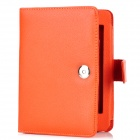 Protective PU Leather Case for Amazon Kindle Paperwhite - Orange