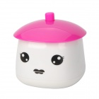 LB-801 Cute Girl Style Mini USB Powered Portable Air Humidifier - Red + White