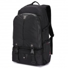OIWAS Nylon 2901XL Travel doble hombro Backpack Bag - Negro (32L)