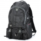 Oiwas 2901 Fashionable Travel / Computer Double-Shoulder Backpack Bag - Black (27L)