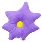 Cute Starfish Style Music Playing Cushion Pillow - Purple + Yellow (3.5mm Plug)