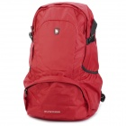 Oiwas 4071 Nylon Travel Doppel-Shoulder Backpack Bag - Red (25L)