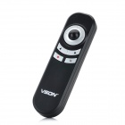 2.4GHz Multi-Function USB Mouse Presenter w/ Red Laser Pointer + TF Card Reader - Black + Silver