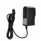 AC Power charger Adapter for Nintendo Wii U - Black (US Plug / 100~240V / 110cm-Cable)