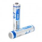 GOOP Replacement 1.2V 900mAh Rechargeable NiMH AAA Battery - White + Blue (2 PCS)