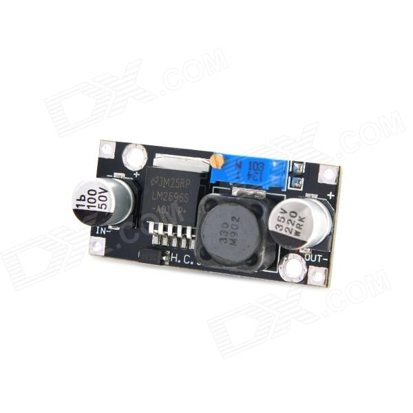 DC 3.2 ~ 40V DC 1,2 ~ 35V 3A Auto step-down LM2596S Converter Voltage Regulator - Svart