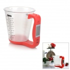 "1,5 ""LCD Digital Messbecher w / Scale - Red"