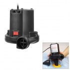 Kai Bao K8000 150W Electric Air Pump w/ 3 Nozzles for Inflate & Deflate - Black (2-Flat-Pin Plug)