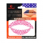 Temporary Lip Tattoo Sticker - Pink