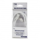 CY DP-019 Mini DisplayPort Male to Female Extender Cable - White (1.8m)