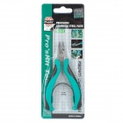 Pro'sKit PM-396F Precision Stainless Steel Cutting Pliers - Green + Black + Silver