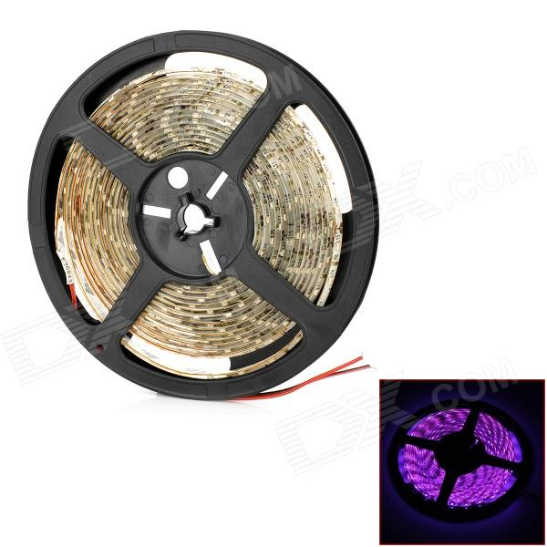 18W 1200lm 300-3528 SMD LED Pink Light Waterproof Flexible Car Decoration Strip (5m / DC 12V)