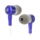 Apolok ME-C905-4 Fashion Hi-Fi In-Ear Stereo Earphones - Blue (3.5mm Plug / 120cm)