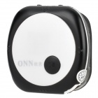 ONN V3 Mini Clip-On Sports MP3 Player - Black + White (4GB)