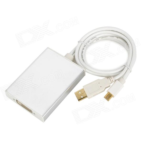 CY DP-035 Active Tri-Screen Mini DisplayPort to Dual Link DVI 24+1 Adapter - White parallel single and multi objective genetic algorithm in datamining