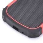 Detachable Protective Back Case for Samsung Galaxy S3 Mini - Black + Red