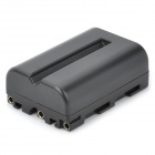 "New-View NP-FM500H Replacement 7.4V ""1650mAh"" Rechargeable Li-ion Battery for Sony DSLR - Black"