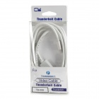 CY TB-008 Thunderbolt to HDMI Male Adapter Cable - White (1.8m)