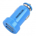 BASEUS CCALL-TW03 Dual-USB Car Charger Adapter - Blue (DC 12V / 24V)